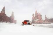 Циклон «Эмма» вМоскве: итоги ночного снегопада сметелью
