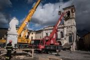 Вцентре Италии произошло три землетрясения подряд