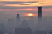 Екатеринбург заволокло смогом: фото