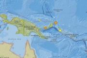 Землетрясение магнитудой 7,9 ударило по Папуа-Новой Гвинее