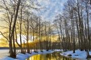 Погода в Сибири: ранняя весна ненадежна