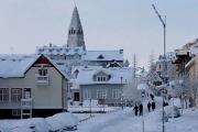 Рейкьявик засыпало рекордным количеством снега: фотообзор