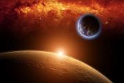 Земля и Марс могут столкнуться через миллиарды лет