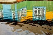 В Ненецком АО вода стабильно отступает от жилых домов
