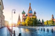 В Москве температура превысила +30