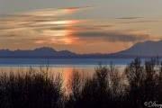 Ложное Cолнце сияет над Аляской: фото