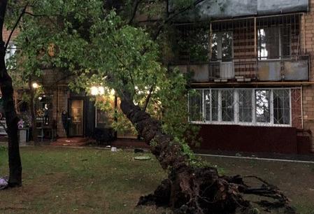 День Победы в столице: десять человек пострадало от разгула стихии